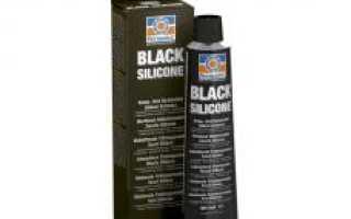 Герметик черного цвета