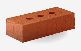 Керамические кирпичи рядовые поризованный
