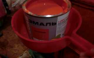 Масляная краска для внутренних работ без запаха