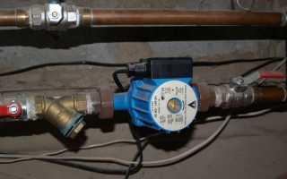 Дополнительный насос на газовый котел