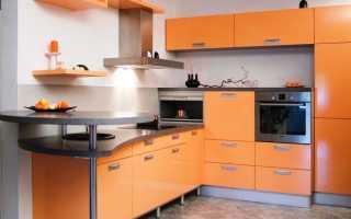 Дизайн маленькой кухни с газовой плитой