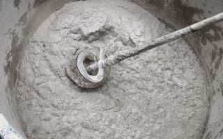 Как рассчитать кубатуру цементного раствора