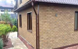 Отделка дома фасадной плиткой технониколь