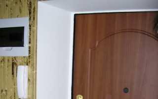 Как установить гипсокартон по откосу двери