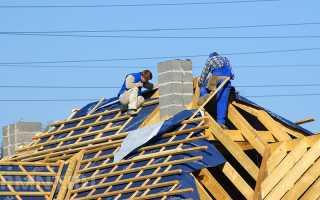 Вальмовая крыша пошаговая инструкция как построить