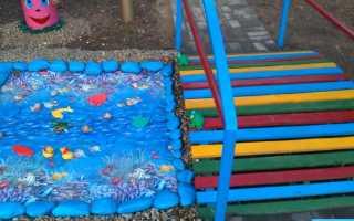 Игровые зоны оформление в саду