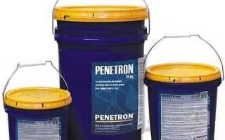 Пропитка пенетрон для кирпича