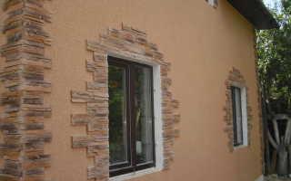 Штукатурка короед для наружней отделки стен